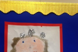 Portrait of Queen Elizabeth by Tiger Class